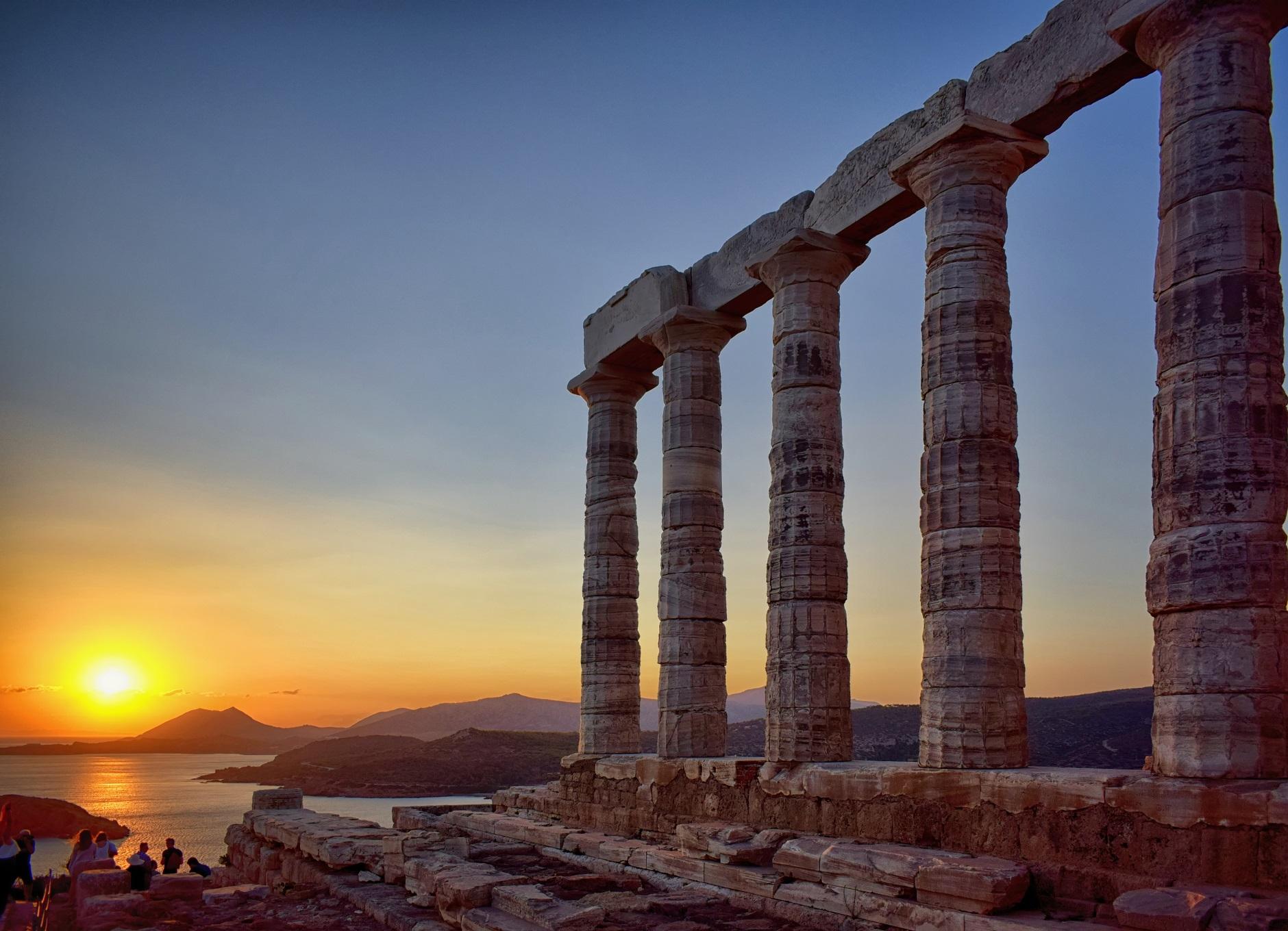 Il tempio di Poseidone a capo Sunio
