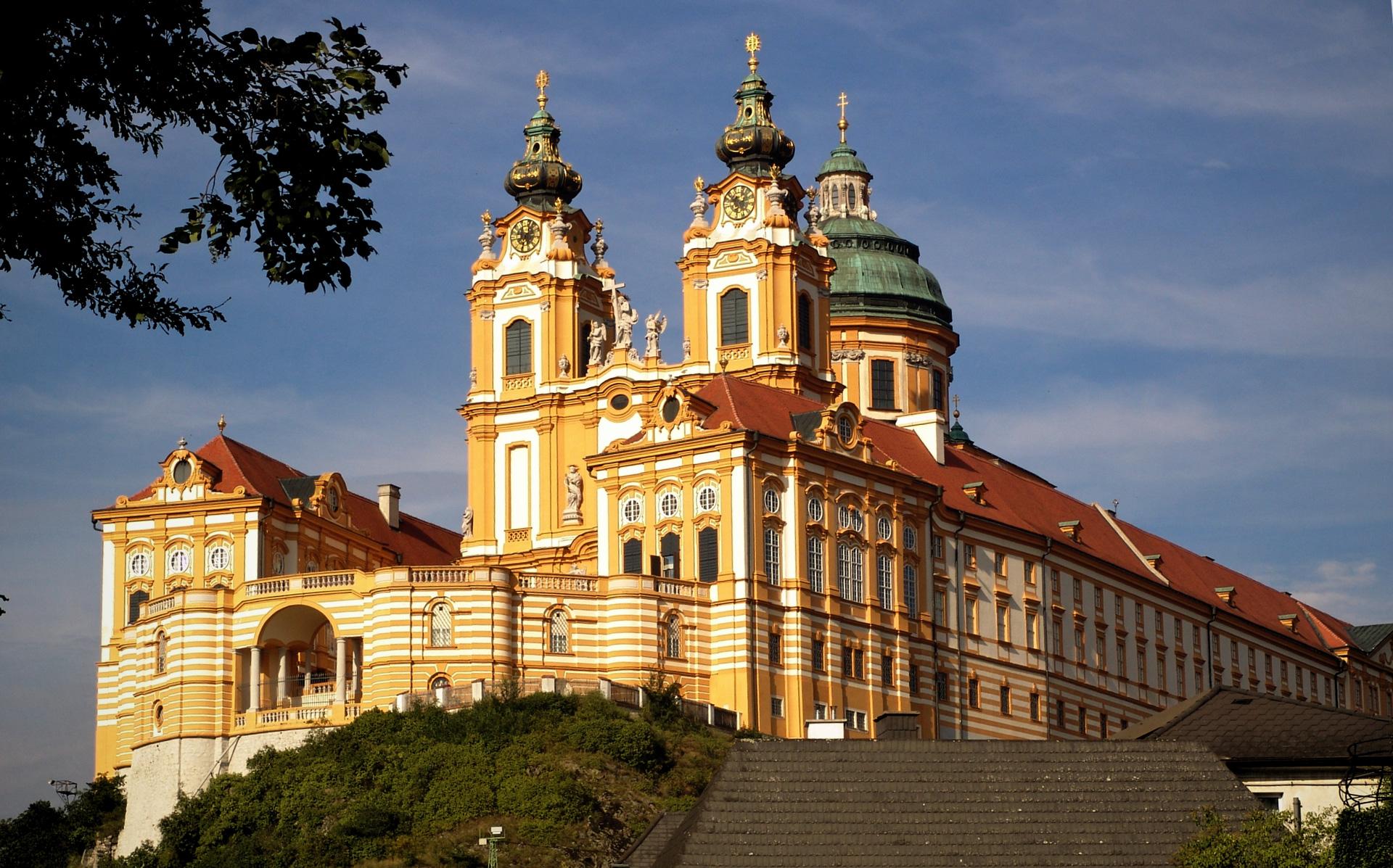 abbazia di Melk in Austria