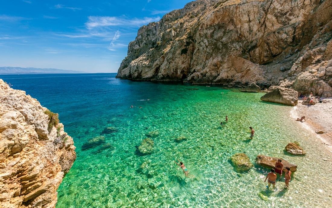 Le pi belle spiagge della croazia tutti i colori dell for Setacciavano la sabbia dei fiumi