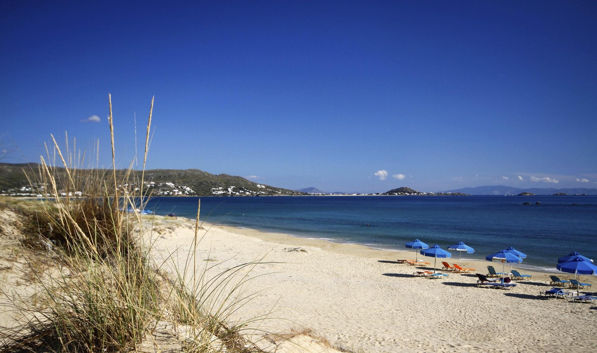 Le spiagge dell'isola di Naxos: