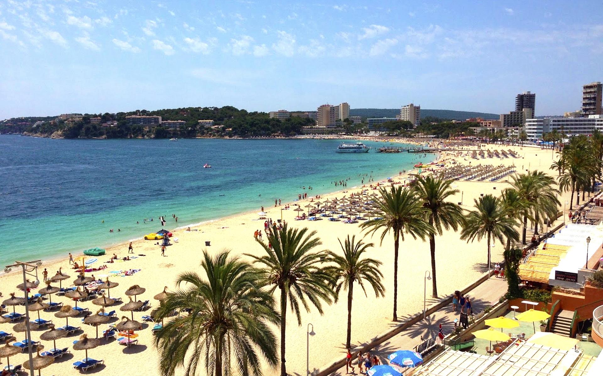 Magaluf sull'isola di Maiorca