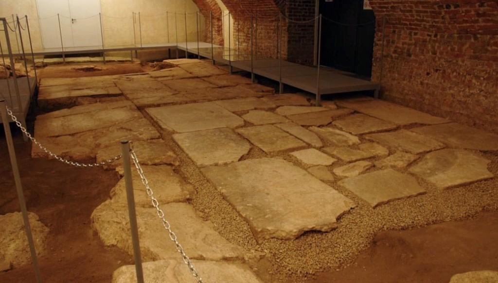Milano insolita una immagine del foro antico