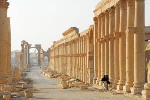 Palmira, prima della guerra in Siria