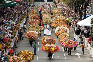 Sillettes, la festa dei fiori di Medellin in Colombia