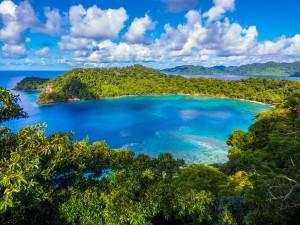 guida delle isole Fiji nell'oceano Pacifico