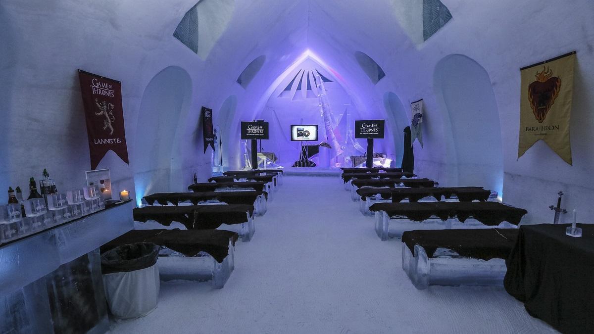 brividi garantiti nei migliori alberghi di ghiaccio del mondo. Black Bedroom Furniture Sets. Home Design Ideas