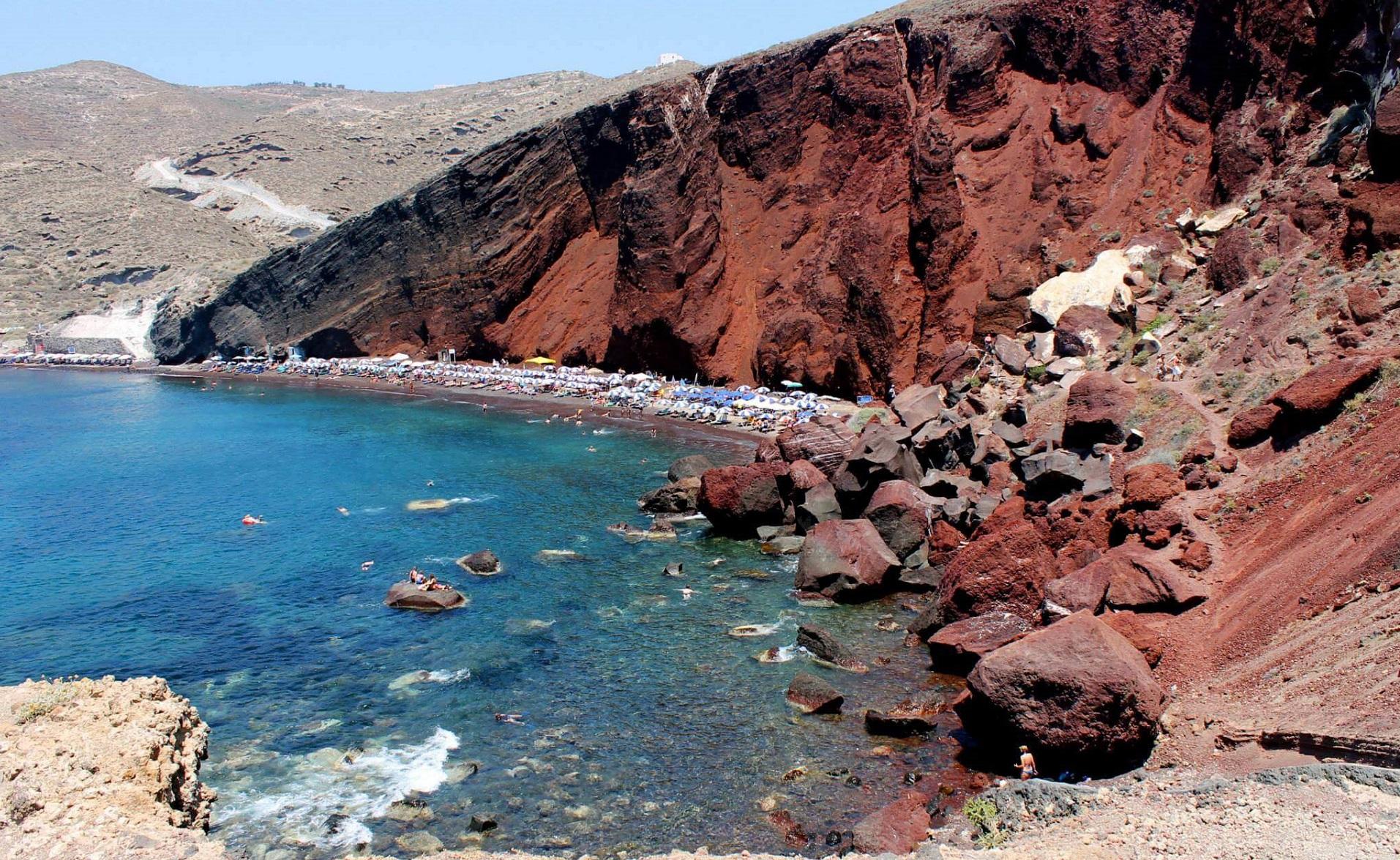 spiagge di Santorini