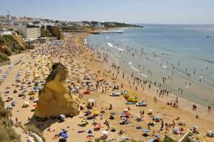 Albufeira e le sue spiagge in Algarve