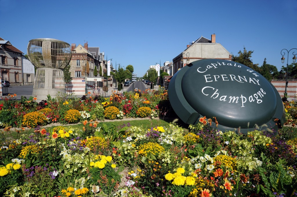 Viaggio in Champagne, Epernay