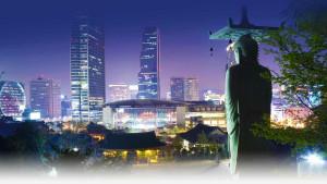 Cosa vedere a Seoul - la città vista da un tempio