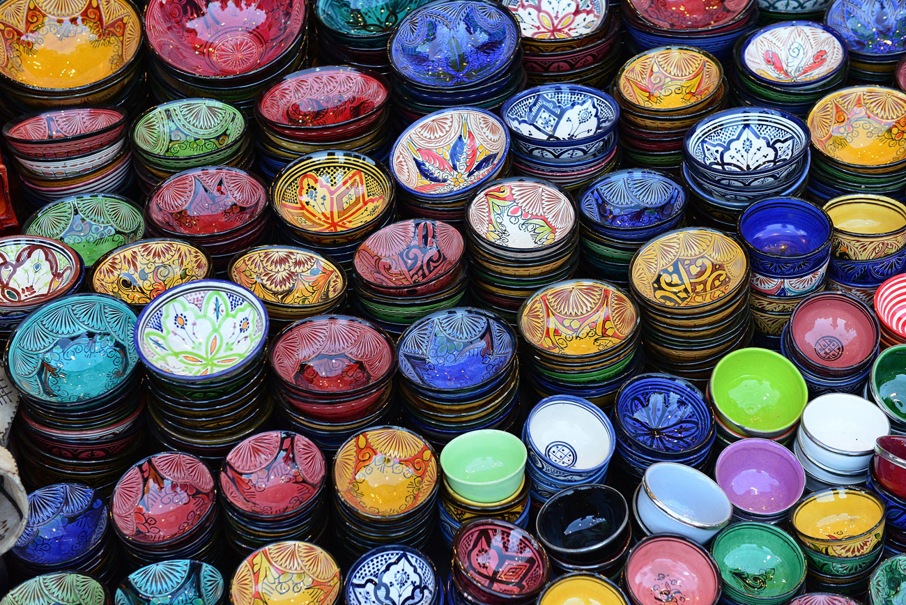 Fare shopping a marrakech in marocco guida al souk