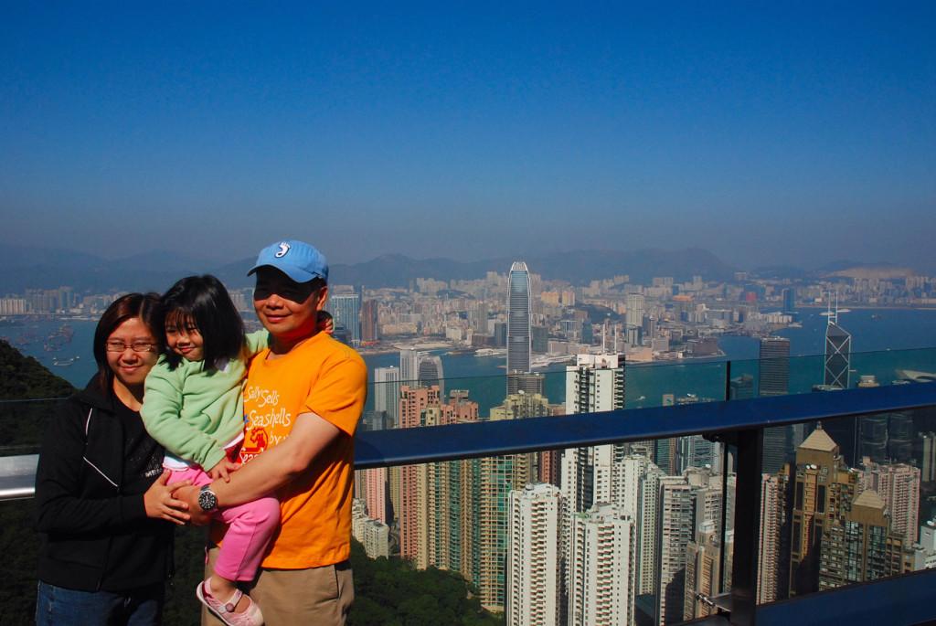 guida di cosa fare e cosa vedere a Hong Kong - vista-dall'alto-dell'isola-su-Kowloon