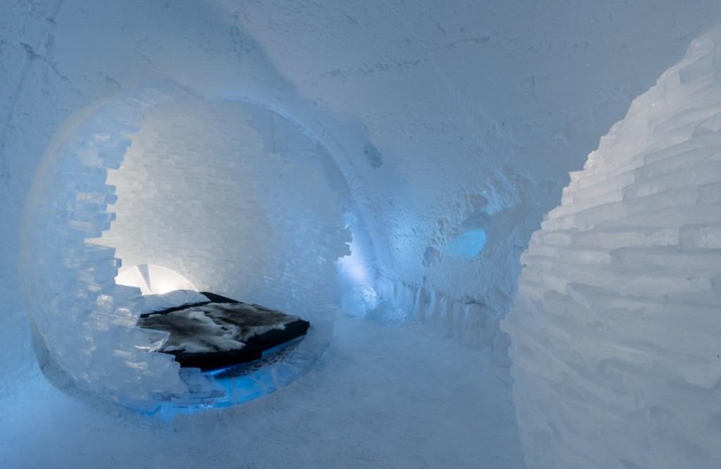I migliori alberghi di ghiaccio