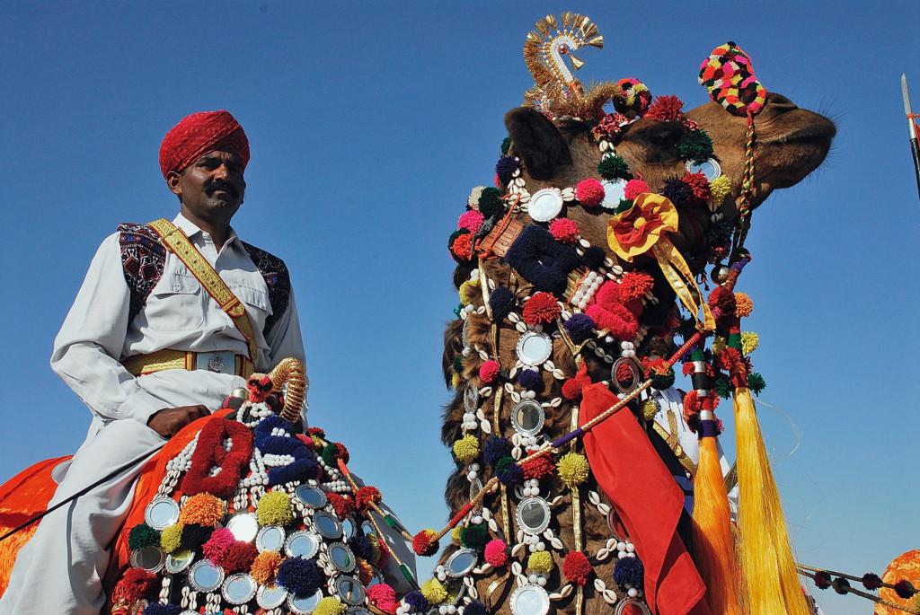 Jaisalmer nel Rajastan per il festival del deserto