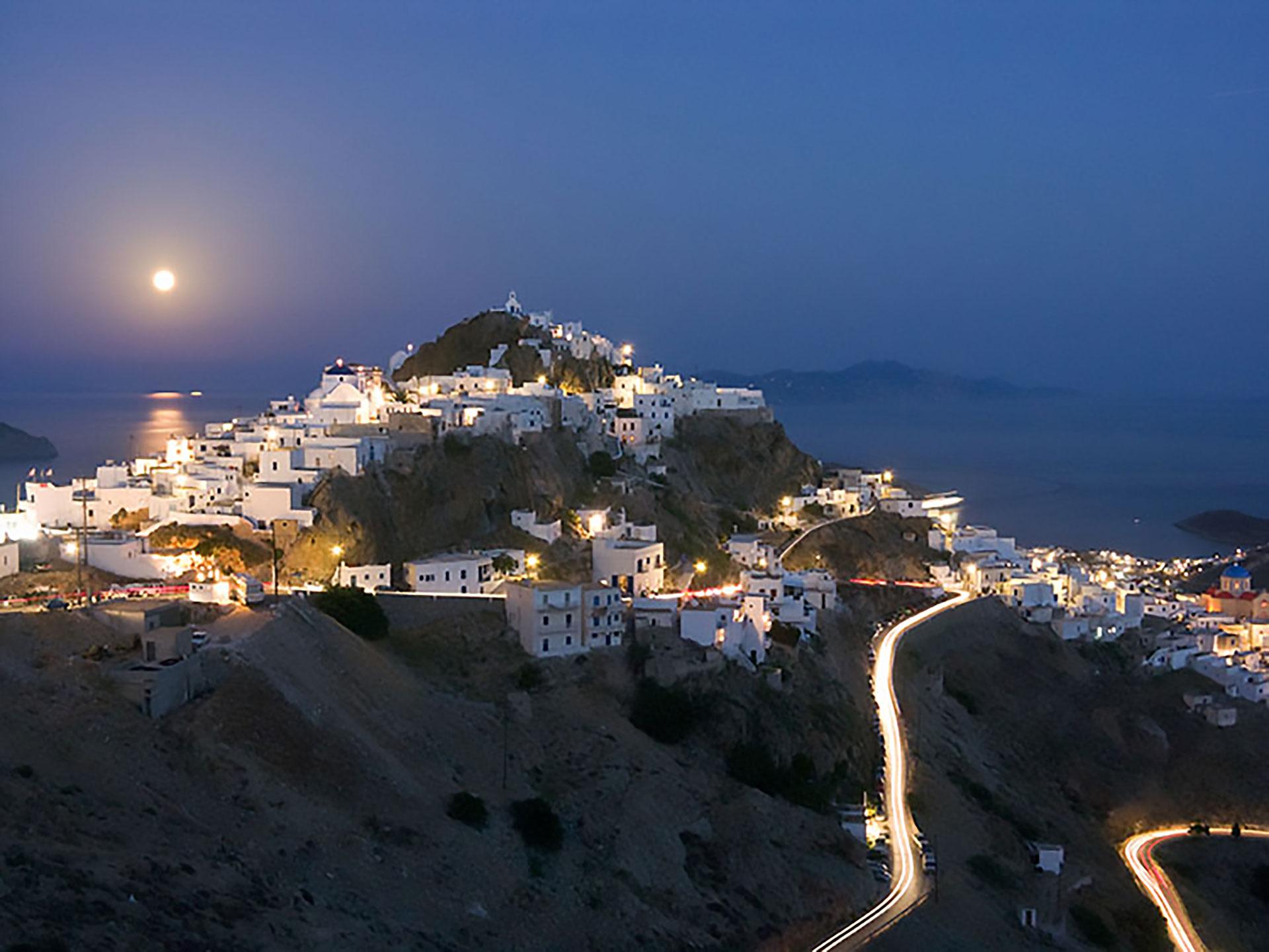 Le spiagge e i villaggi dell'isola greca di Serifos