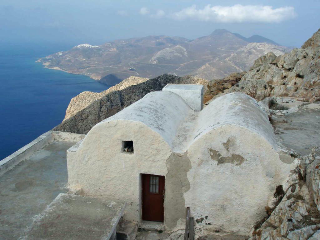 L'isola di Anafi in Grecia