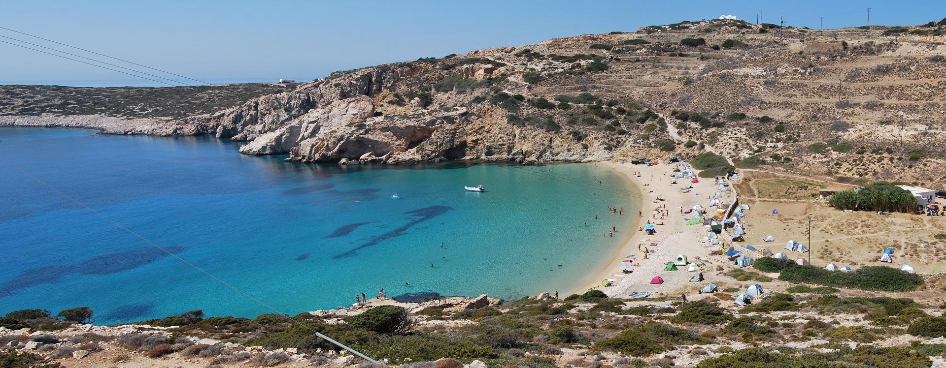 L'isola di Donoussa nelle piccole Cicladi