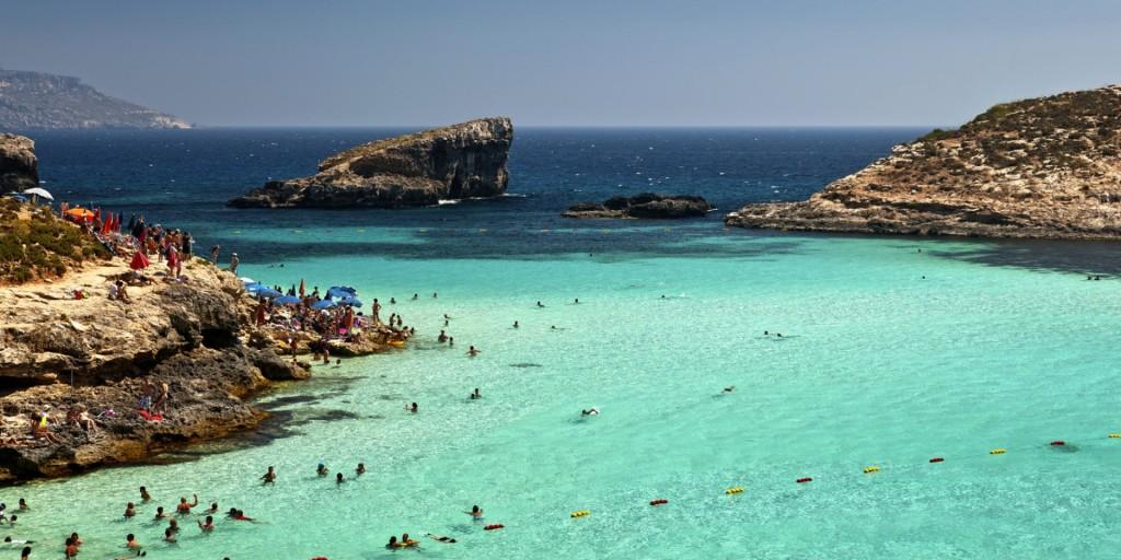 Malta Blue lagoon Comino
