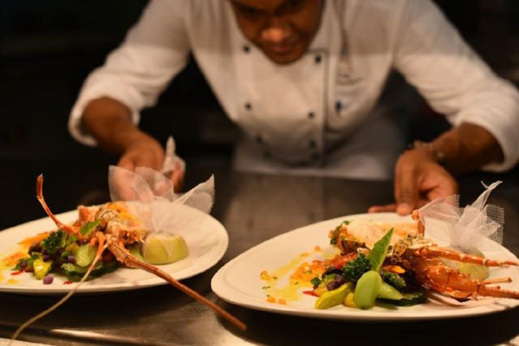 Mauritius piatto di pesce