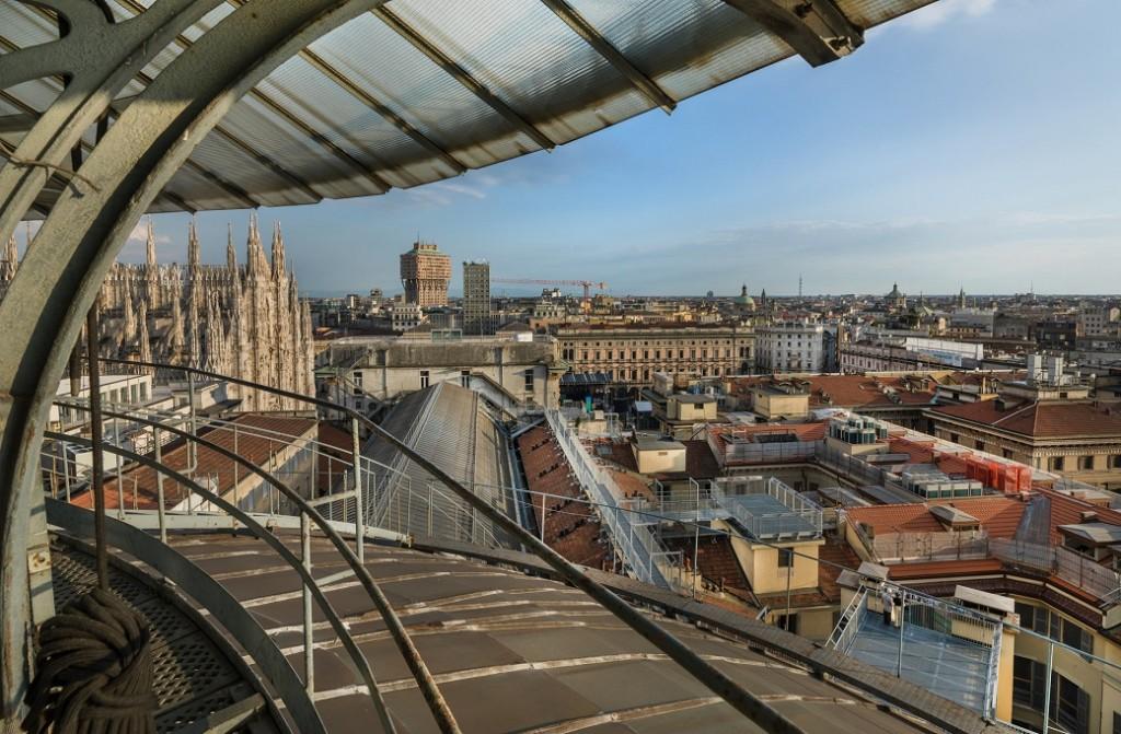 Milano insolita l'highline sopra la galleria
