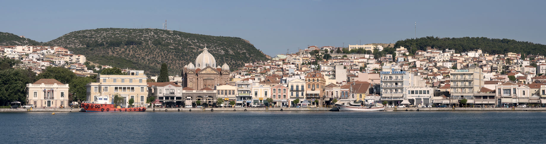 Mitilene sull'isola di Lesbo