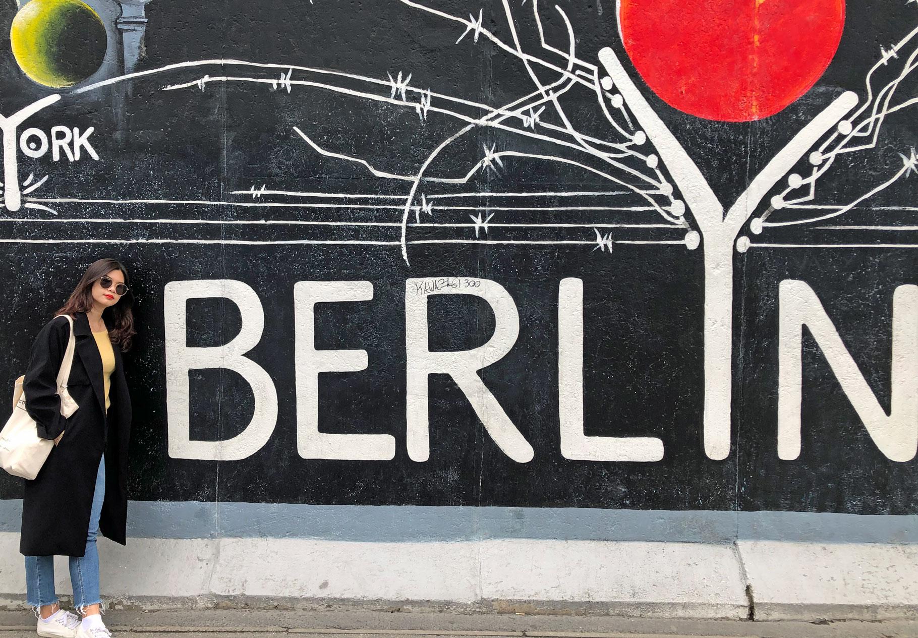 Muro di Berlino oggi