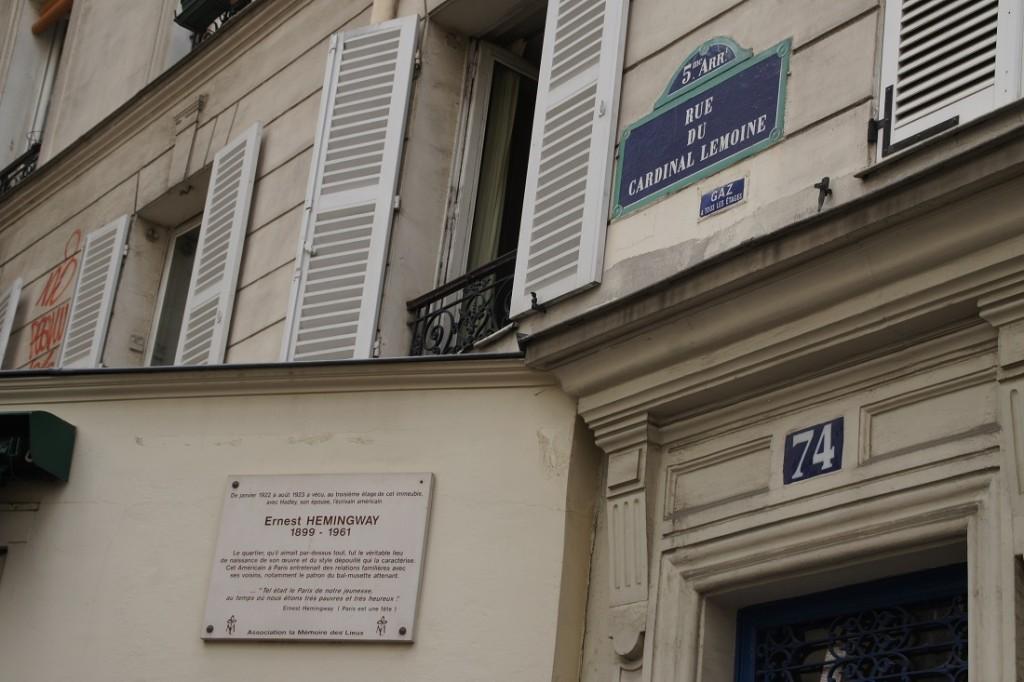 Parigi sulle tracce degli scrittori