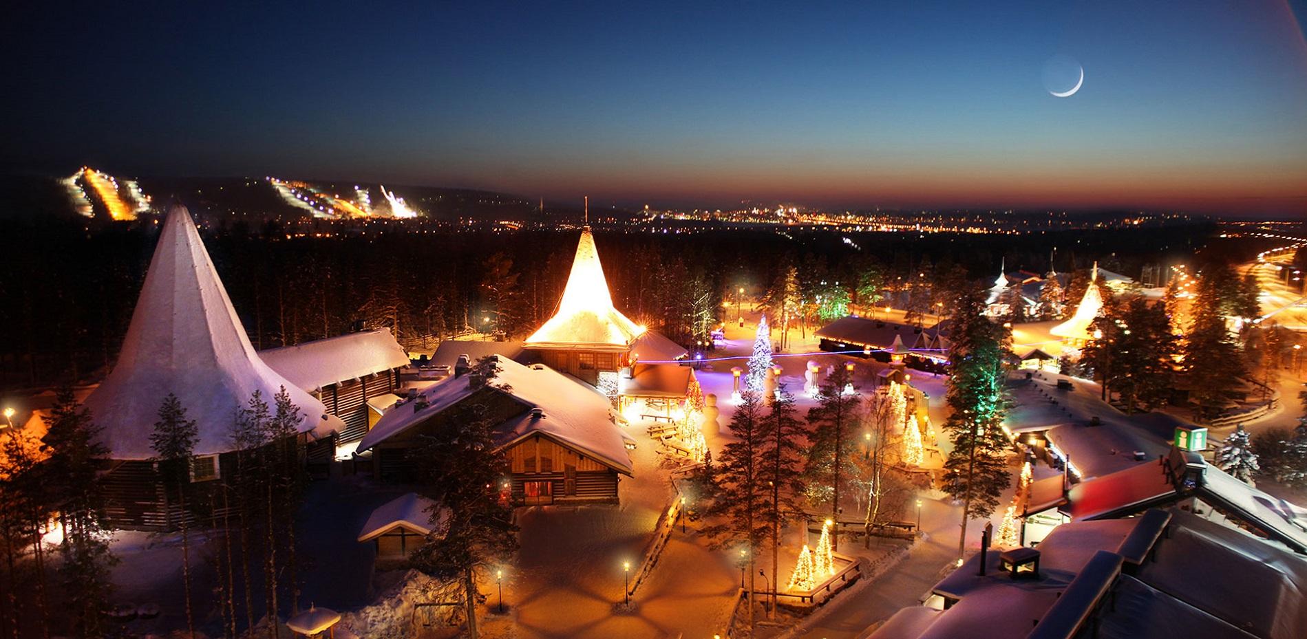 Rovaniemi in Finlandia: