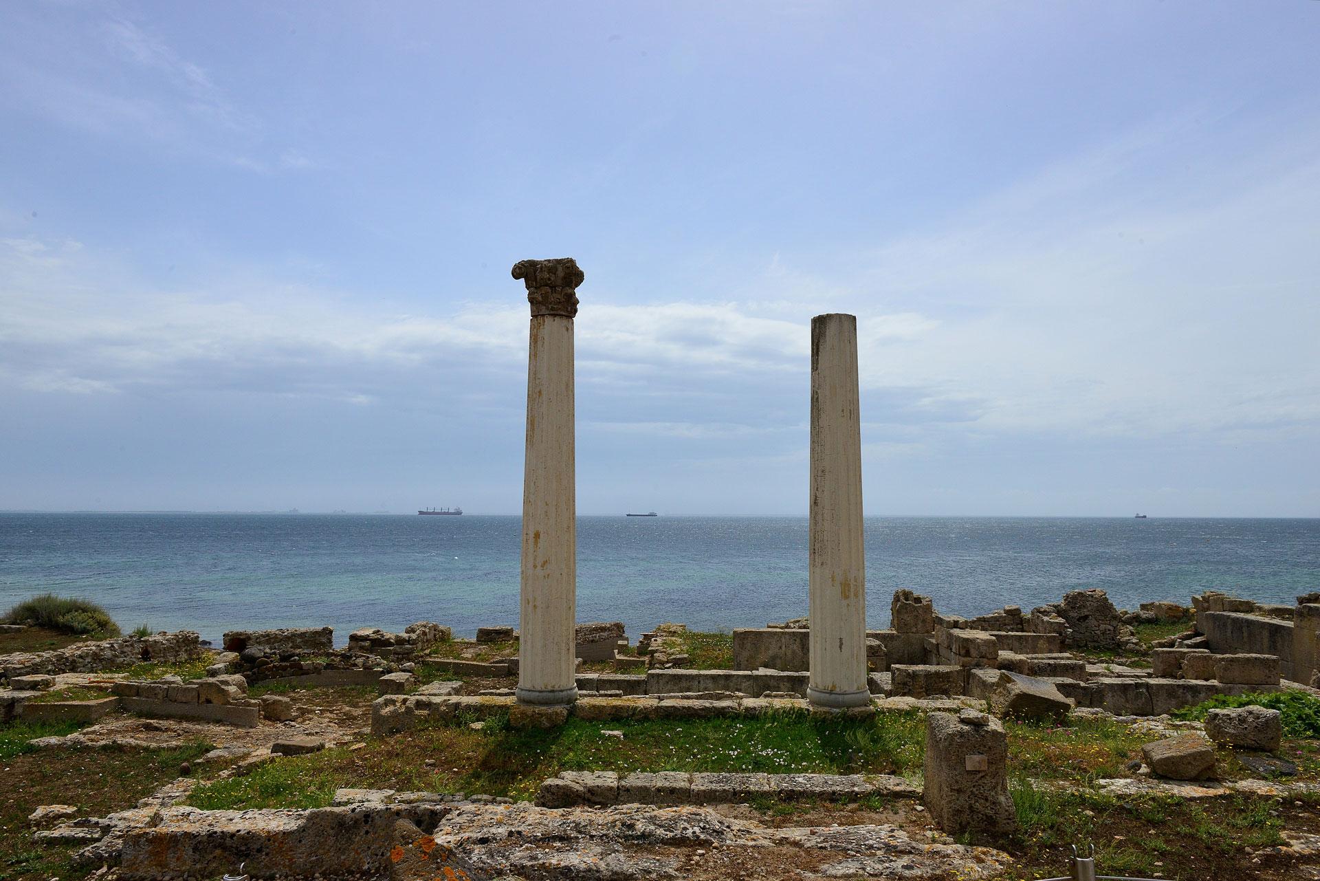 Tharros, il sito sulla penisola del Sinis