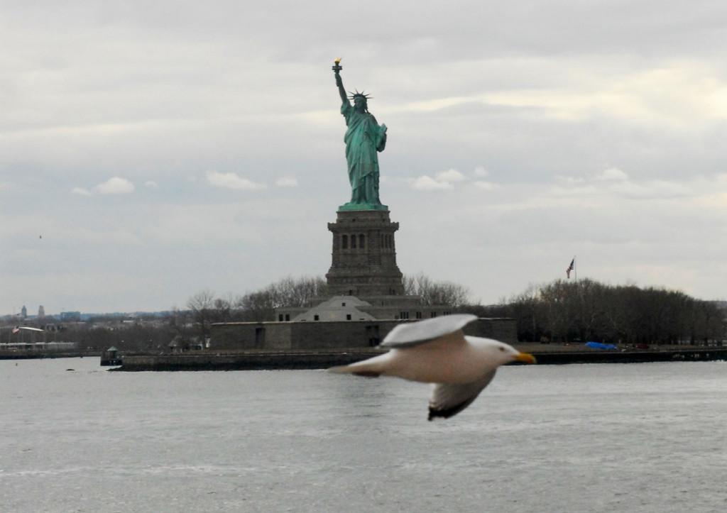 Un-week-end-a-New-York---Miss-Liberty-dal-ferry