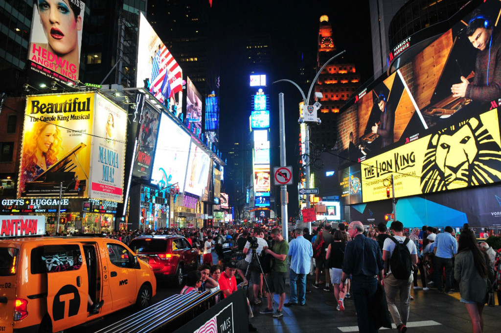 Un-week-end-a-New-York---Times-Square