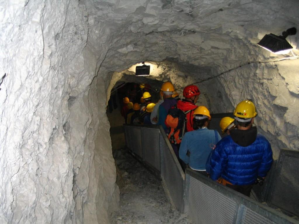 passeggiate in Valmalenco - visita alla miniera Bagnada