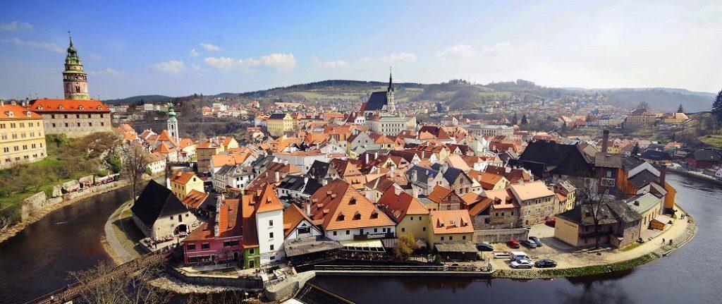 Vedere nella repubblica Ceca