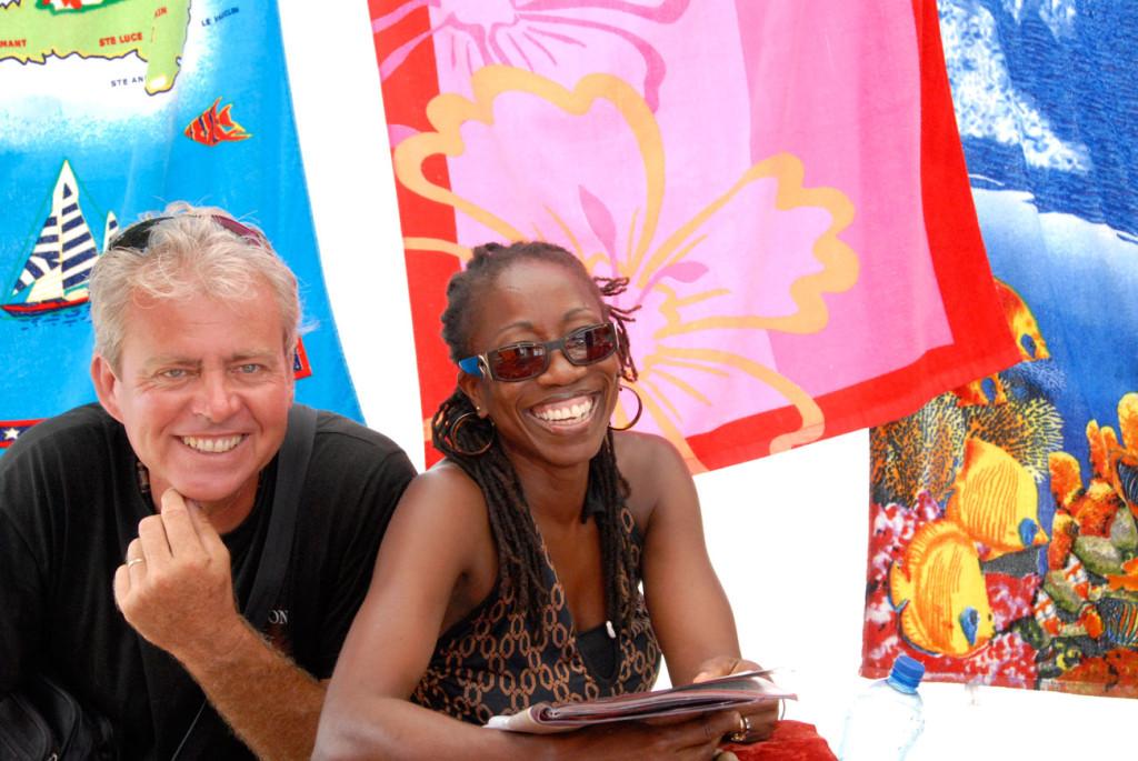 Viaggio-in-Martinica---venditori-di-pareo