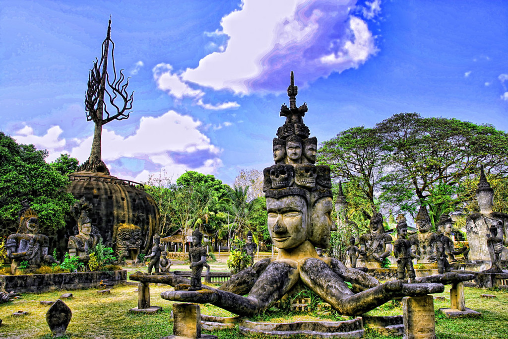 Vientiane, la capitale del Laos