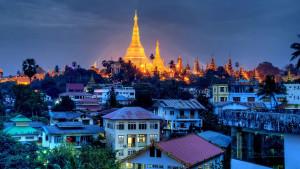 vedere a Yangon