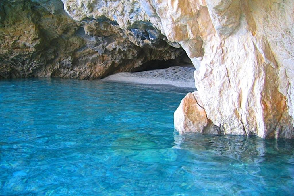 Zante, l'isola greca sul mar Ionio - la zona del parco