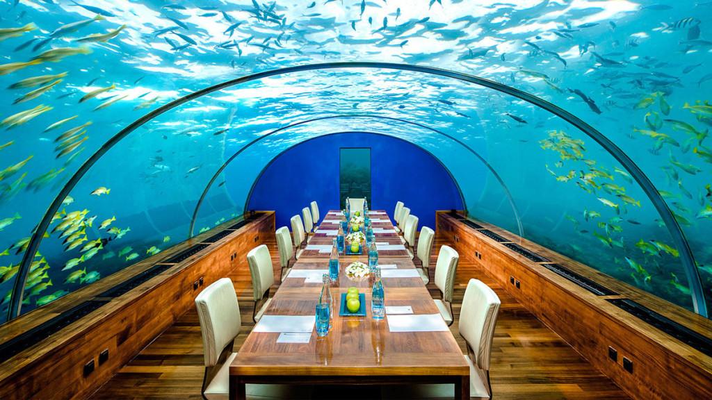 Alberghi sotto il mare