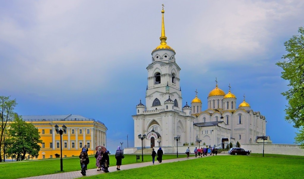antiche città dell'Anello d'oro tra Mosca e il Volga