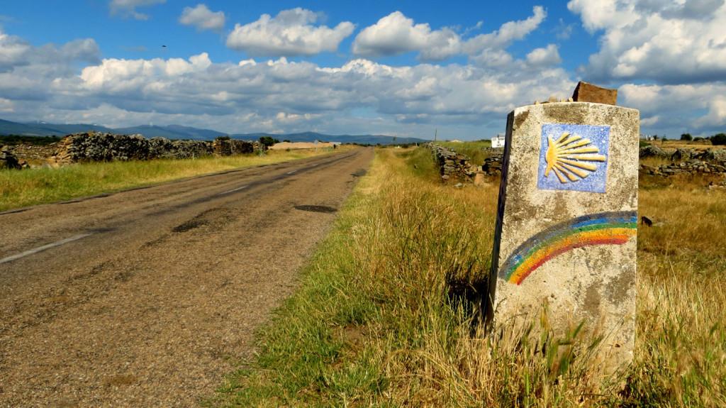 Cammino-di-Santiago -uno-dei-contrassegni