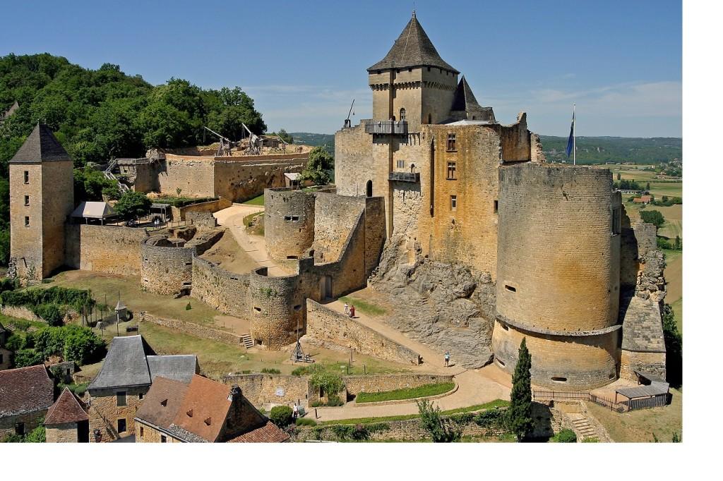 castelli più belli della Francia Castelnaud