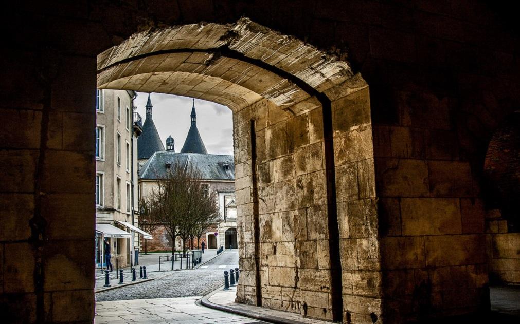 città di Nancy in Francia