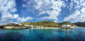 isola di Tinos nelle Cicladi