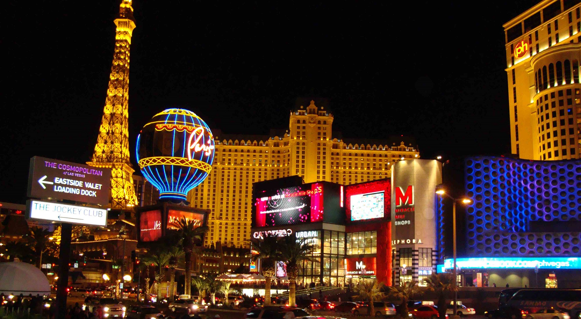 Mangiare nei casinò di Las Vegas