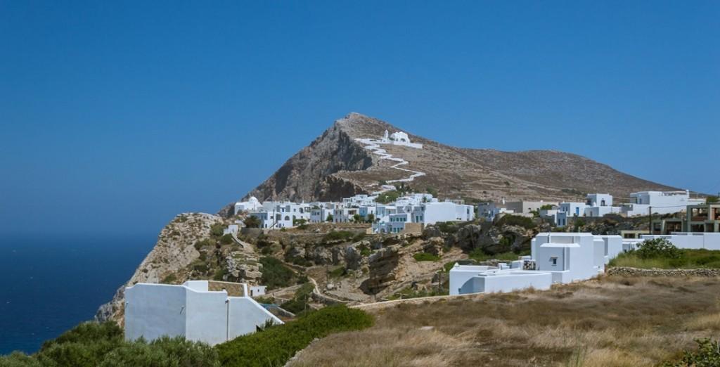 le isole delle Cicladi in Grecia
