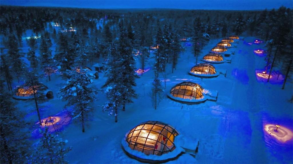 migliori alberghi di ghiaccio del mondo