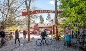 quartiere di Christiania