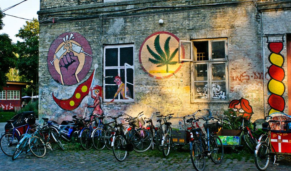 quartiere di Christiania