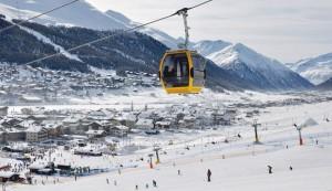 sciare a Livigno