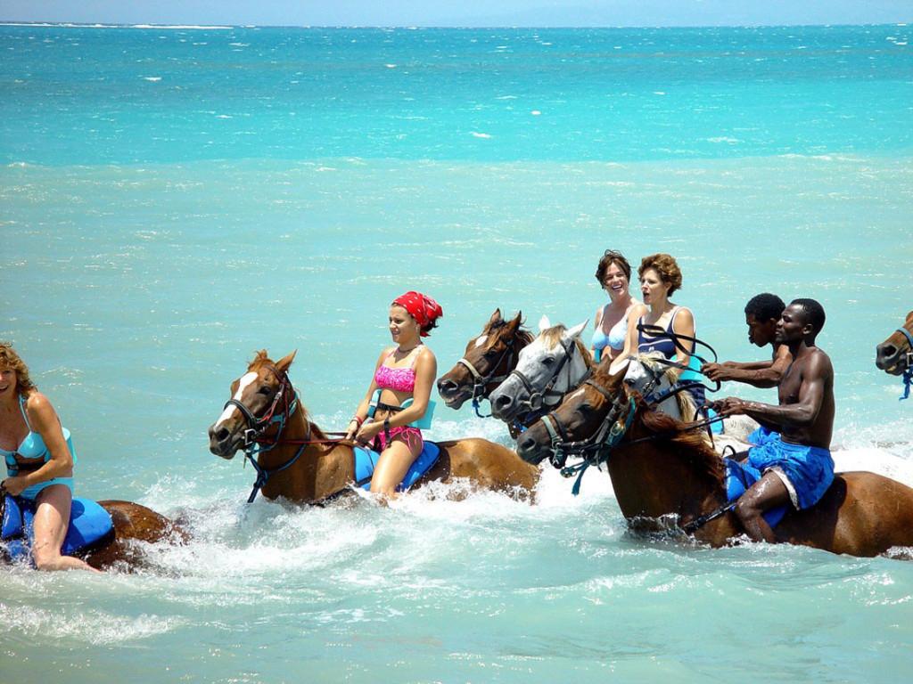 spiagge di Negril in Jamaica